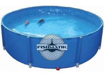 Быстросборные каркасные басейны для разведения рыбы
